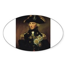 Admiral Nelson T-Shirt Oval Decal