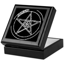STREGA WITCH PENTACLE Keepsake Box