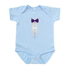 Tuxedo (violet) Body Suit