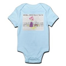403b Defined Infant Bodysuit