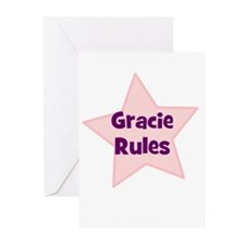 Gracie Rules Greeting Cards (Pk of 10)