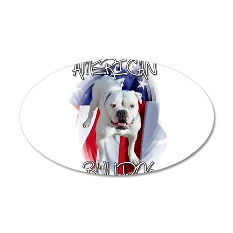 American Bulldog Wall Decal