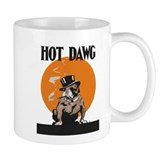 Hot Dawg Vintage Bulldog Mug