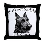 NOT SCOTTISH IT'S CRAP #2 Throw Pillow