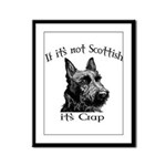 NOT SCOTTISH IT'S CRAP #2 Framed Panel Print