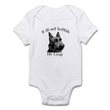 NOT SCOTTISH IT'S CRAP #2 Infant Bodysuit