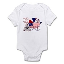 Made In The U.S.A. Onesie