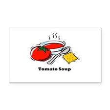 tomato soup.png Rectangle Car Magnet