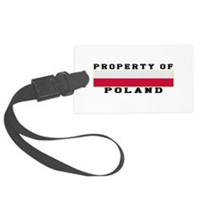 Property Of Poland Luggage Tag