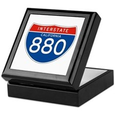 Interstate 880 - CA Keepsake Box