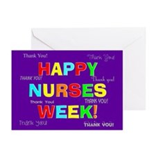 Happy Nurses week CP 2 Greeting Cards (Pk of 10)