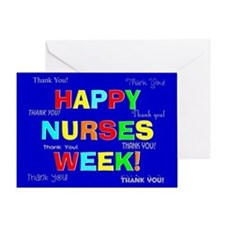 Happy Nurses week CP 1 Greeting Card