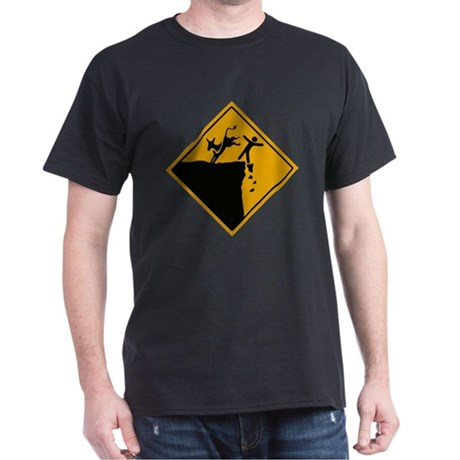 Democrats take us over the cliff Dark T-Shirt