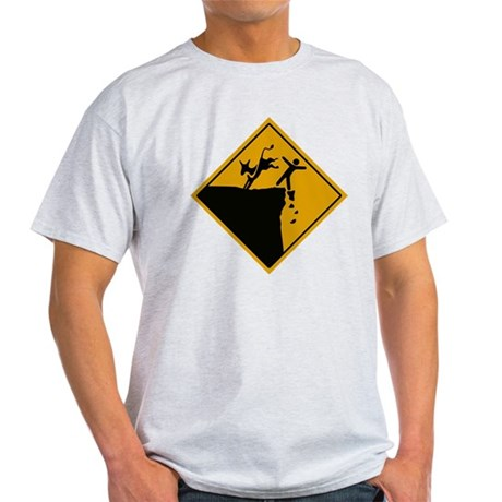 Democrats take us over the cliff Light T-Shirt