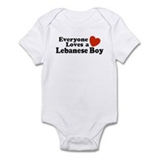 Everyone Loves a Lebanese Boy Infant Bodysuit