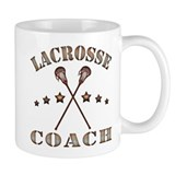 Lacrosse Coach Steampunk Style Mug