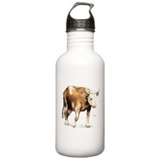 Cattle Cow Farm Animal Water Bottle