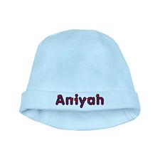 Aniyah Red Caps baby hat