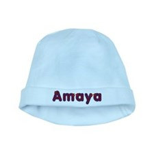 Amaya Red Caps baby hat