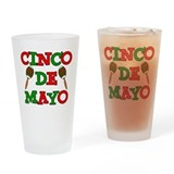 Cinco De Mayo Drinking Glass