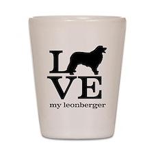 Love my Leonberger Shot Glass