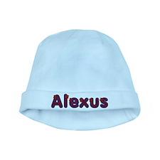 Alexus Red Caps baby hat