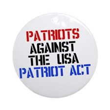 PATRIOT ACT Ornament (Round)