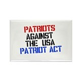 PATRIOT ACT Rectangle Magnet