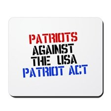 PATRIOT ACT Mousepad
