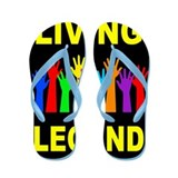 LIVING LEGEND Flip Flops