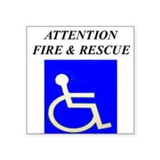 FIRE RESCUE Sticker