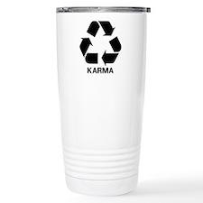 Funny Karma Travel Mug