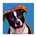 Pitbull Tile Coaster