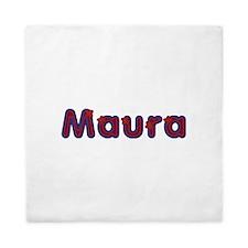 Maura Red Caps Queen Duvet