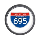 Interstate 695 - MD Wall Clock