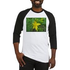 Yellow Wildflower Baseball Jersey