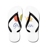 Easter Egg Gretchen Flip Flops