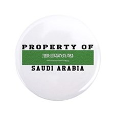 "Property Of Saudi Arabia 3.5"" Button"