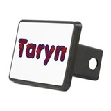 Taryn Red Caps Rectangular Hitch Cover