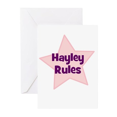 Hayley Rules Greeting Cards (Pk of 10)