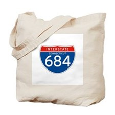 Interstate 684 - CT Tote Bag