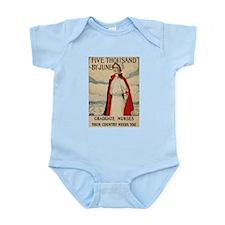 USA Nurse Infant Bodysuit