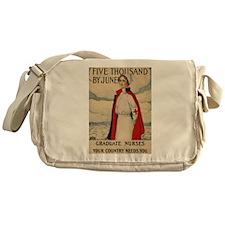 USA Nurse Messenger Bag