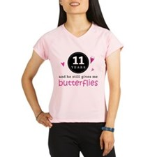 11th Anniversary Butterflies Performance Dry T-Shi