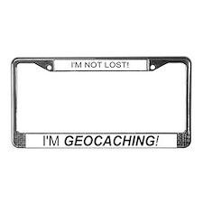 Unique Geocacher License Plate Frame