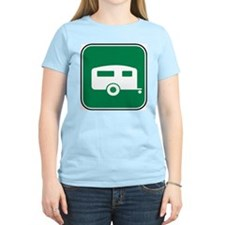 Trailer / RV Women's Pink T-Shirt