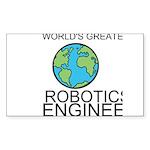 Worlds Greatest Robotics Engineer Sticker