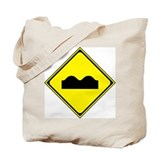 Speed Bumps Tote Bag