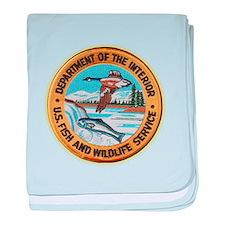 U S Fish Wildlife Service baby blanket