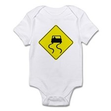 Slippery When Wet Infant Bodysuit